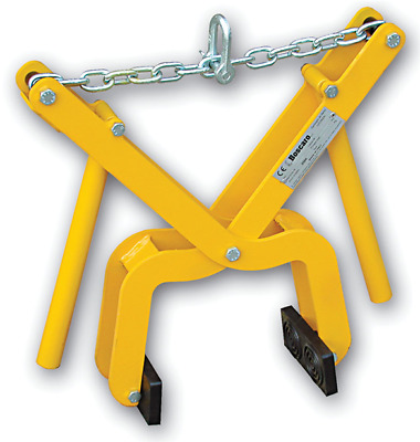 Adjustable Manual / Hoist Kerb Slab Grab Gripping Lifting Tool 500kg Capacity