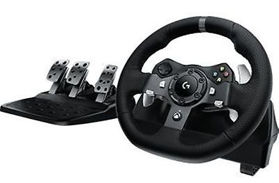 Logitech G920 Driving Force Racing Wheel - XBox One and PC Dual-Motor Force