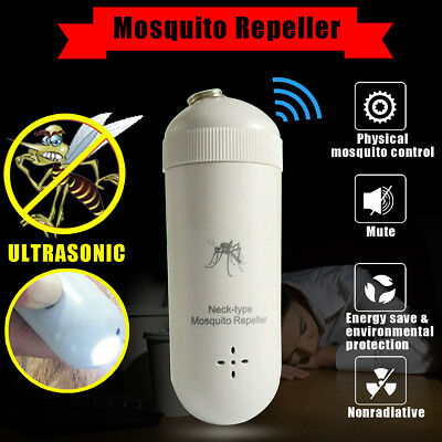 Ultrasonic Mosquito Repellent Electronic Pest Control Outdoor Camping Travel