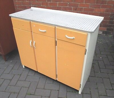 Mid Century Vintage Retro Kitchen Cabinet Formica Top COLLECTION ONLY