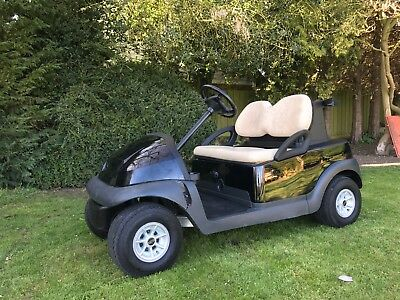 ***BLACK*** Clubcar President Golf Buggy Electric 48v