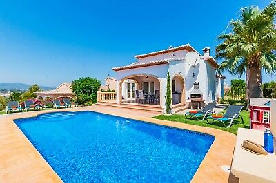 Villa Jean Ingres Costa Blanca Javea Spain Private Tranquil Warm Spring Holiday