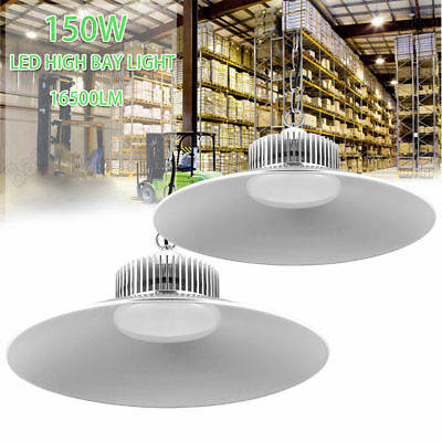 2X LED 150W High Bay Lighting Light Lamp Warehouse Industrial Factory Commercial