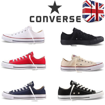Canvas Shoes Women's All-Star Chuck Taylor Low Top Trainers Full Size Men Shoes