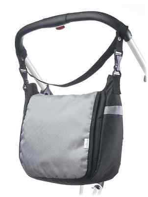 New Baby Travel Nappy / Maternity Changing Nursery Shoulder Pram Bag - Grey