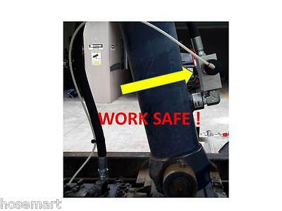 Safety Valve Air Pilot Operated Tipper Valve 'oil Path'