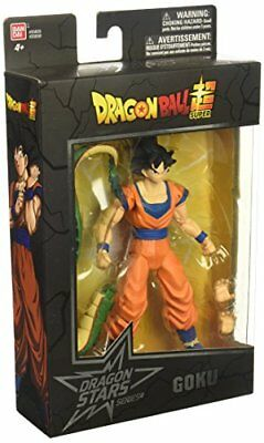 "6.5"" Dragon Ball Super Stars Series Poseable Goku Figure Exclusive Collectible"