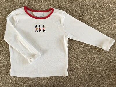 the little white company 9-12 Months Baby Boys Long Sleeved London Top. Autumn