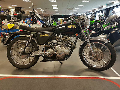 Norton 750 Commando S type 1969 only 7,651 miles 2 owners from new!