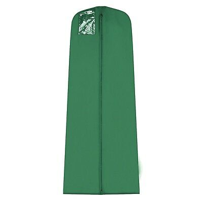"""Simpson & Ruxton 72"""" Green Waterproof Cover Bag for Wedding Bridal Gown Dresses"""
