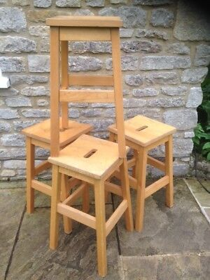 Chemistry lab stools. Solid and used. Great for refurbishment kitchen stools