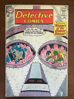 Detective Comics (1937 1st Series) #324 VG Very Good