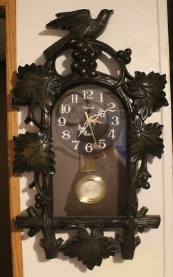 Faux Black Forest Cuckoo Clock by Telesonic working