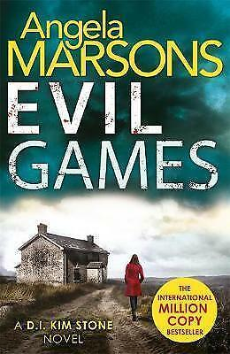 **NEW PB** Evil Games: by Angela Marsons (Paperback, 2017)