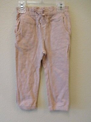 Baby Gap girls 18 24 months pinkish mauve jogging pants EUC
