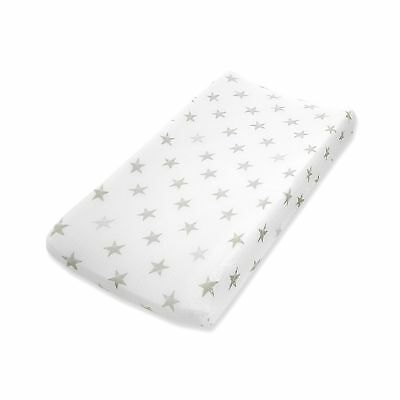 aden by aden + anais changing pad cover single, dusty - stars