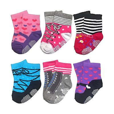 Baby Socks For Toddler Girls With Non Skid, Best Gift For 12-24 Months Infant...