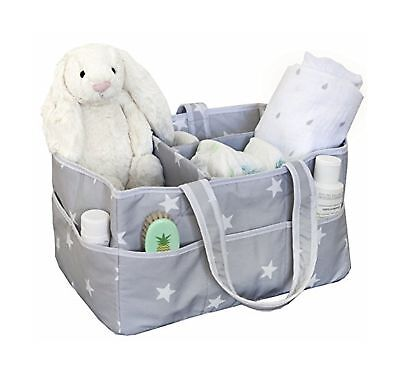 Large Diaper Caddy Organizer, Fits All Diaper Sizes, Nursery Storage Bin, Nurser