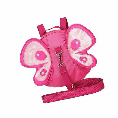 Toddler Walking Safety Butterfly Belt Backpack with Leash Child Kid Harness Stra