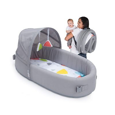 Bassinet to-go Metro - Portable Infant Bed Folds Into Backpack - With Activity B