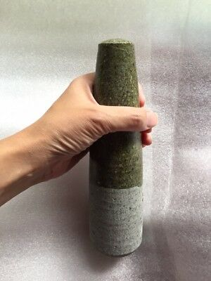 """Stone Pestle Only - 8.5"""" - very Heavy"""