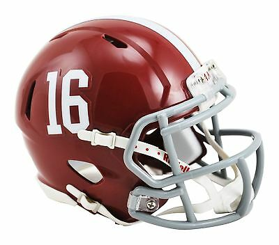 NCAA Alabama Crimson Tide Speed Mini Replica Helmet Red