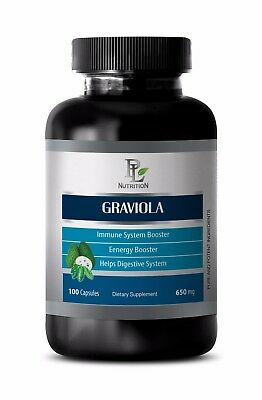 Immune support essential oil - GRAVIOLA 650MG 1Bot- graviola extract
