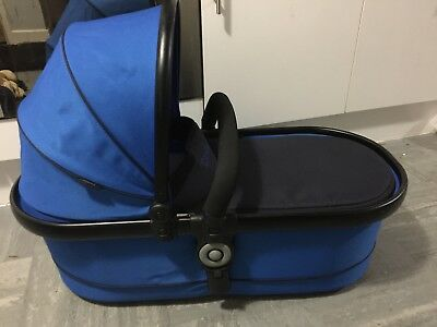 icandy peach colbalt blue carrycot