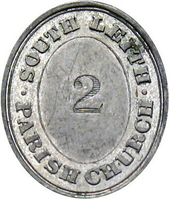 South Leith Midlothian Scotland Communion Token