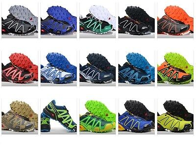 Men's Running Shoes Salomon Speedcross 3 Athletic Outdoor Hiking Sport Sneakers