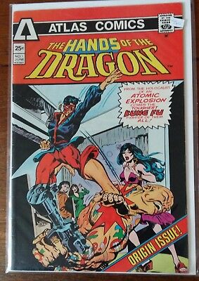 Atlas Comics - Hands of theDragon  #1 - BronzeAge