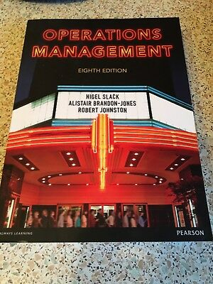 essentials of operations management by nigel slack Slack, nigel, brandon-jones, alistair and johnston, robert (2011) essentials of operations management harlow, england : financial times prentice hall.