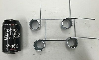 .135 Wire Torsion Spring Lot Of 4