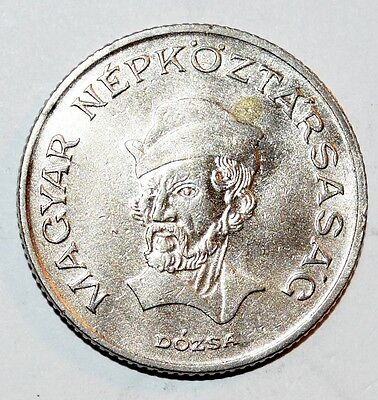 1985 HUNGARY world 20 FORINT foreign coin AU uncirculated