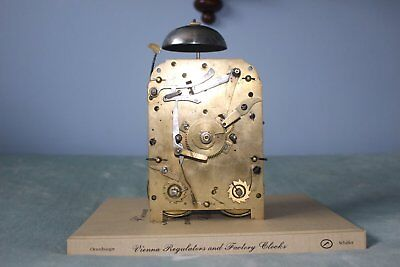 English Double Fusee Clock Movement