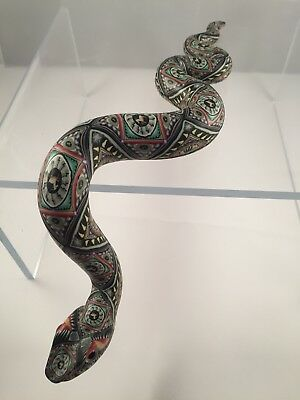 jon anderson polymer clay snake