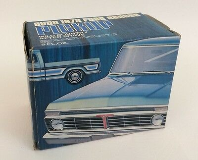 Ford Ranger Truck Decanter Avon 1973 Wild Country in Box Decals Full Vintage