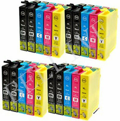 20 Cartucce Compatibile per Epson WORKFORCE WF 2530WF WF-2650DWF WF-2660DWF BL
