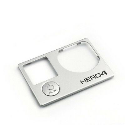 Genuine GoPro Faceplate Frame Front Cover for GoPro Hero 4 Silver/Black OEM