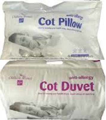 *FREE PILLOW* ANTI-ALLERGY NURSERY BABY DUVET/QUILT 120cm x 150cm 4.5 7.5 9 TOG.