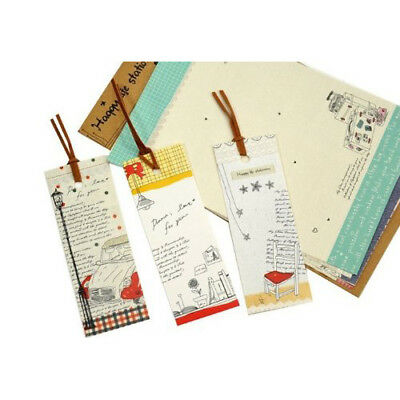 SS New Hot Sale 0.042 Kg Cute Cartoon Lazy Stationery And 3Pcs x Bookmarks Set
