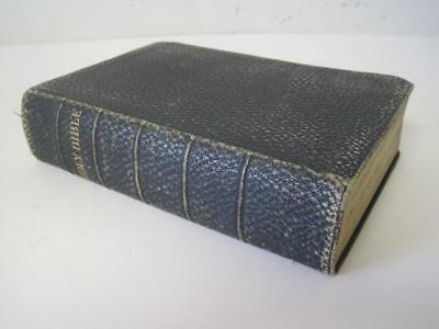Antique 1897 Holy Bible - American Bible Society New York - Old & New Testaments