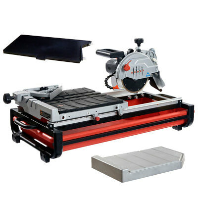 "Lackmond BEAST7 7"" Beast Bench Top Wet Tile Saw w/Side Table + Water Tray New"