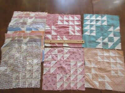 Antique/Vintage Quilt Blocks - unknown pattern - from the early 1900's