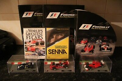 1/43 F1 Car Collection - Issues 1 to 40 + Specials + Ferrari Transporter Truck