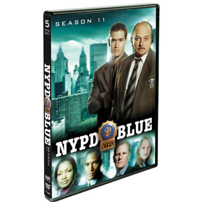 NYPD Blue: Season Eleven 11 (DVD, 2016, 5-Disc Set) New