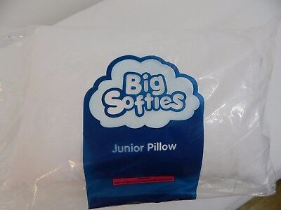 Child Toddler Cot Pillow 100% Cotton   - NEW IN PACKAGE - BIG SOFTIES