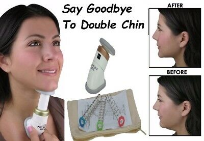 Neckline Slimmer Exerciser Reduce Double Chin Remover Massager For Thin Jaw Line