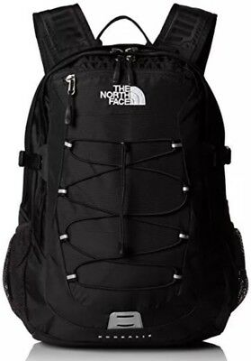 "New THE NORTH FACE BOREALIS Backpack TNF Black 15"" Laptop Bag Black NWT"