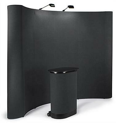10'  Portable Trade Show Pop up display Booth Kit